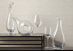 Crystal Palates: Glassware
