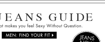 Men: Find Your Fit