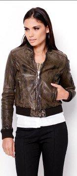 Dolce & Gabbana Lambskin Blend Jacket - Made In Italy