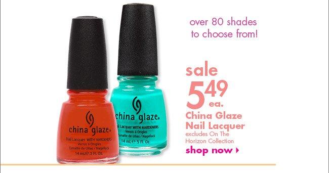 China Glaze Lacquer