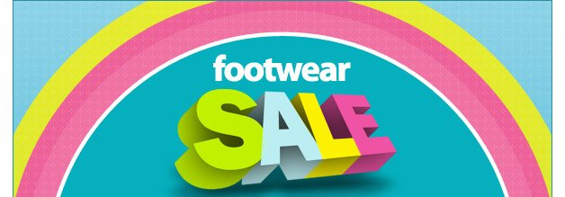 footwear sale - one day only - 10% off all regular, sale and clearance priced shoes - shop now