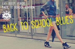 Back to School Blues