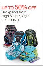 Up to 50% off Backpacks from High Sierra®, Ogio and more!
