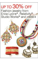 Up to 30% off Fashion jewelry from Erica Lyons®, Relativity®, Studio Works® and more