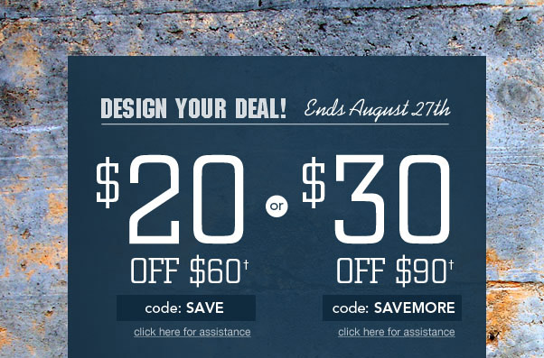 By Popular Demand: Design YOUR Deal!