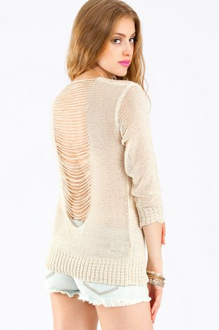 STRIPPED DOWN SWEATER 33