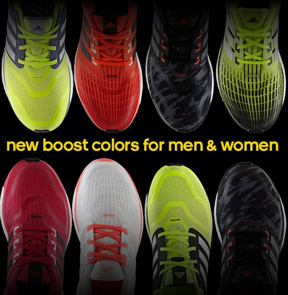 new boost colors for men & women
