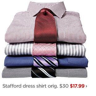 Stafford dress shirt orig. $30 $17.99 ›