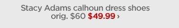 Stacy Adams calhoun dress shoes orig. $60 $49.99 ›