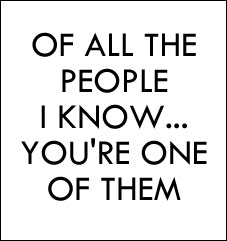 Of All The People