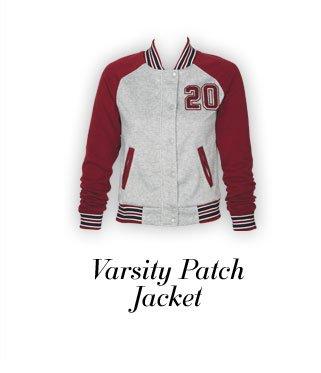 Varsity Patch Jacket