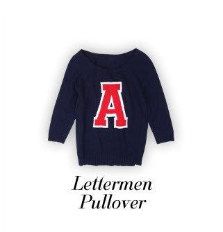 Lettermen Pullover