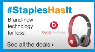 Staples  has it. Brand-new technology for less. See all the deals.