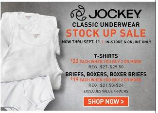 Shop All 2for Jockey