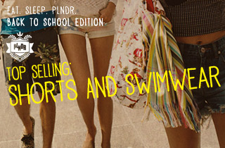 Top Selling: Shorts & Swimwear