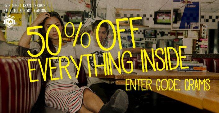50% Everything Inside