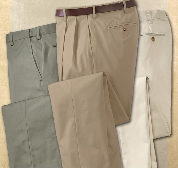 I've been buying these comfort waist pants for years and have never been disappointed. Great fit, great look, great product! - Orvis.com customer, New York, New York