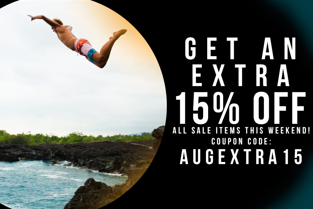 Get an Extra 15% Off Sale Items!
