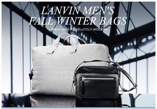 LANVIN MEN S BAGS