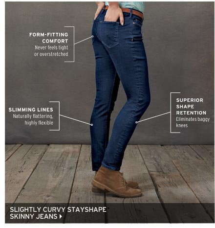 Slightly Curvy StayShape® Skinny Jean