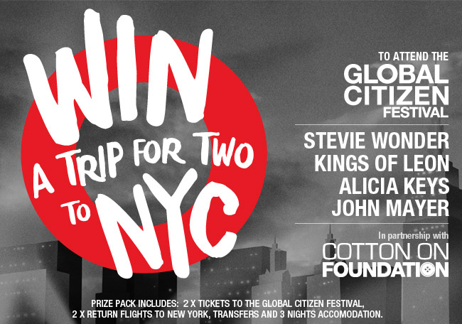 Win a trip for two to NYC!