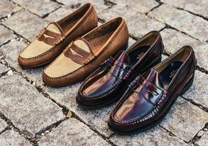 Shop Trending: Leather Loafers ft. Bass