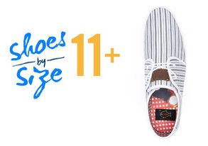 Shop Shoes By Size: 11+