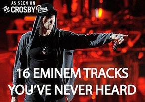 Shop 16 Eminem Tracks Youve Never Heard