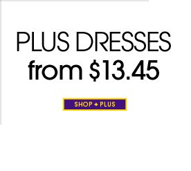 Plus Dresses From $13.45