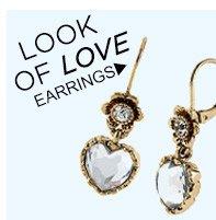 Look Of Love! Shop Earrings