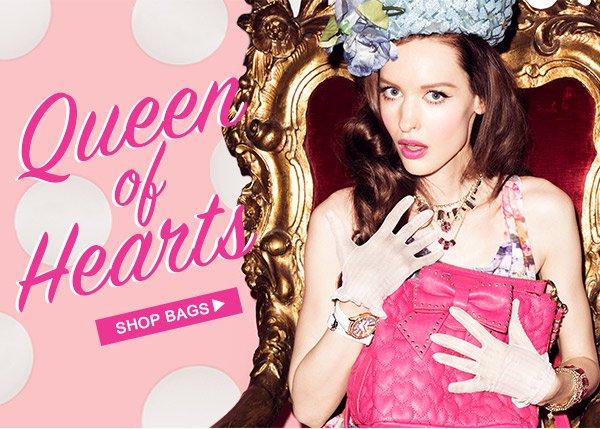 Queen Of Hearts! Shop Bags