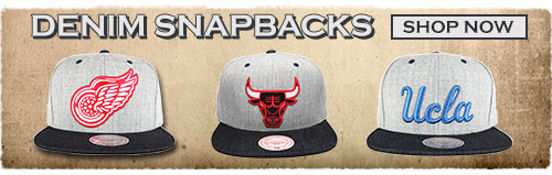 Denim Snapbacks - Shop Now