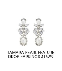 Tamara Pearl Feature Drop Earring