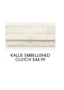 Kallie Embellished Clutch