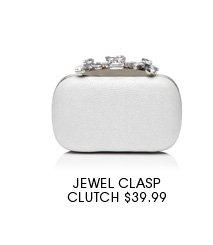 Jewel Clasp Clutch