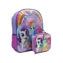 My Little Pony Backpack with Lunchbox