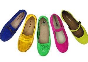 Jewel Tones: Colorful Kids' Shoes