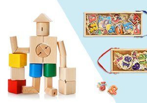 $9 & Up: Favorite Wooden Toys