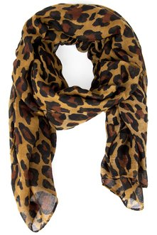 LEAPING LEOPARD SCARF 11