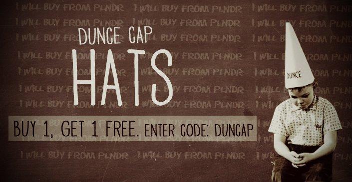 Hats: Buy 1, Get 1 Free