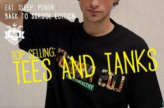 Top Selling: Tees & Tanks