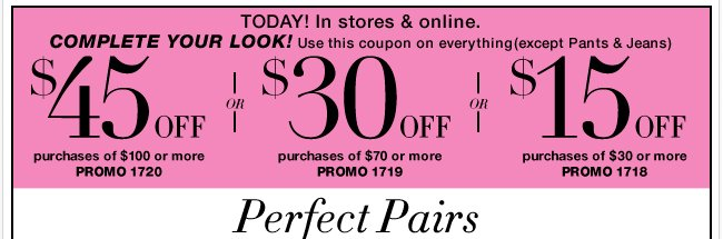 Save in-store & online with your coupon!