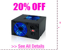 20% OFF SELECT ROSEWILL PC CASES & POWER SUPPLIES!*