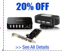 20% OFF SELECT PC ACCESSORIES!*
