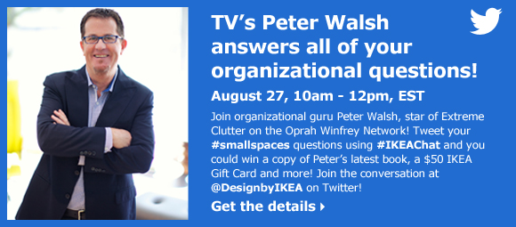 TV's Peter Walsh answers all of your organizational questions!