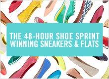The 48-Hour Shoe Sprint