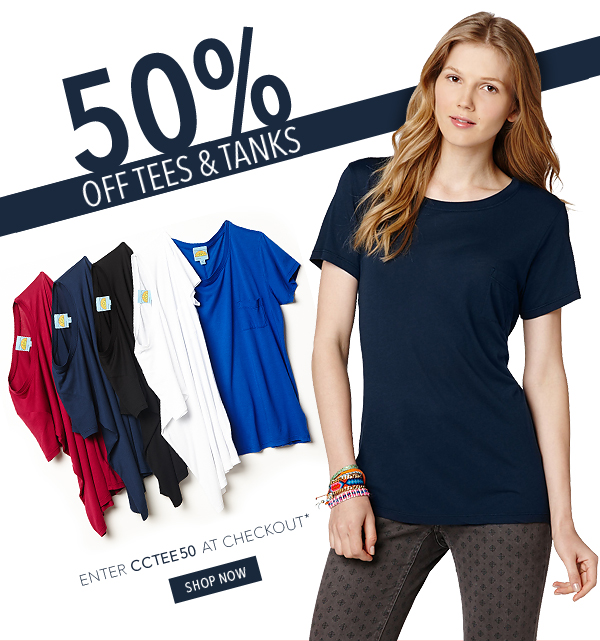 Take 50% Off These Tops!