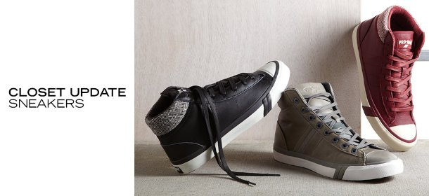 CLOSET UPDATE: SNEAKERS, Event Ends August 25, 4:00 PM PT >
