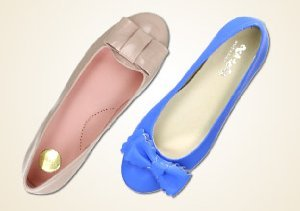 All Dressed Up: Girls' Shoes with Bows