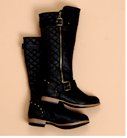 Wild Diva Lounge Tosca Quilted Boots